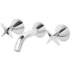 Phoenix Ivy Bath Set Chrome