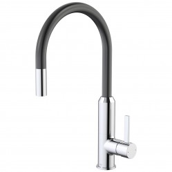 Dorf Vixen Retractable Sink Mixer Black
