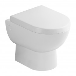 Villeroy & Boch Subway Wall-Hung Toilet Pan & Soft Closing Seat