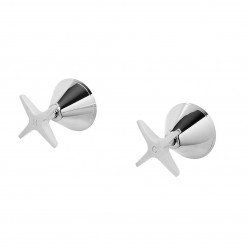 Phoenix Ivy Wall Top Assemblies Chrome