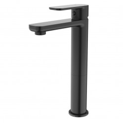 Caroma Luna Tower Basin Mixer Black
