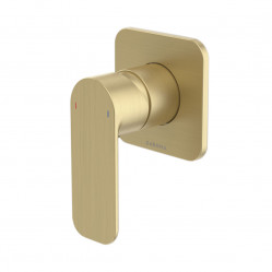 Caroma Luna Bath/Shower Mixer Brushed Brass