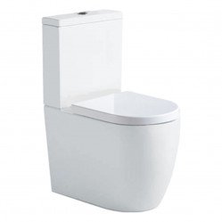 Argent Grace HygienicFlush BTW Toilet S&P Trap Universal Entry