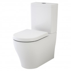 Caroma Luna Wall Faced Toilet Suite - Bottom Inlet
