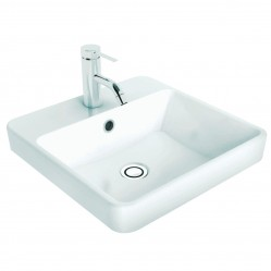 Caroma Carboni Seamless Inset Vanity Basin 1TH