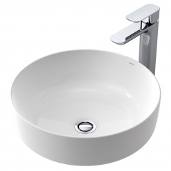 Caroma Artisan  Above Counter Basin Round 405mm