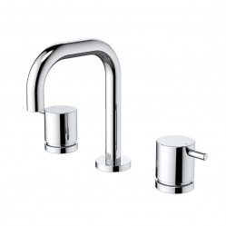 Caroma Luna Lever Basin Set Chrome