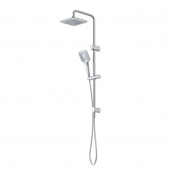 Caroma Luna Multifunction Rail Shower with Overhead Chrome