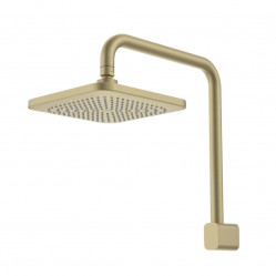 Caroma Luna Fixed Overhead Shower Brushed Brass