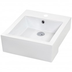 Semi Recessed Basin 1 Taphole