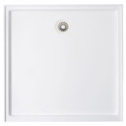 Shower Base White 1200