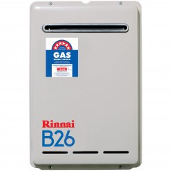 Rinnai B Series Natural Gas Continuous Flow 26L 50º
