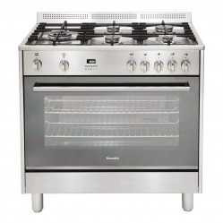Baumatic Upright Cooker  Dual Fuel 90cm
