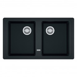 Franke Basis  Double Bowl Inset Sink Onyx