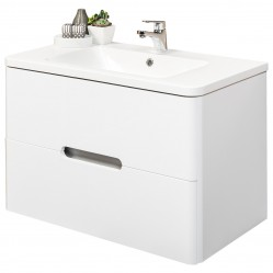 Wall Hung Vanity White 800
