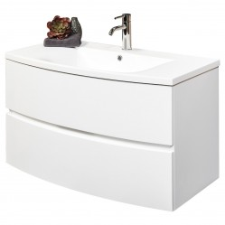 Wall Hung Vanity White 900