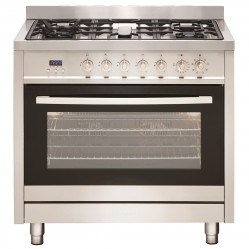 Euromaid Electric Oven & Gas Cooktop 90cm