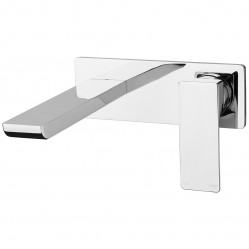 Phoenix Gloss Wall Bath Set Chrome