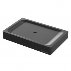 Phoenix Gloss Soap Dish Matte Black