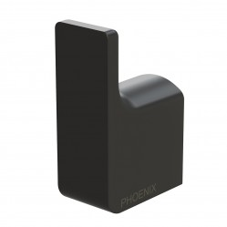 Phoenix Gloss Robe Hook Matte Black