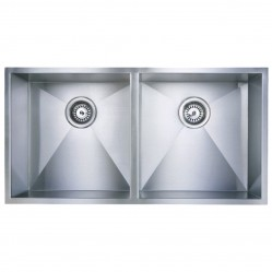 HG Vogue Double Bowl Undermount Sink 870