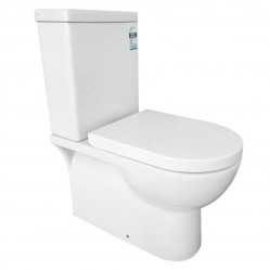 HG Tessa Close Coupled Toilet Suite Bottom Entry