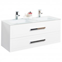 Wall Hung Vanity White 1200