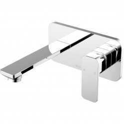 Ikon Seto Wall Basin Mixer Chrome