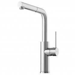 Pullout Mixer Chrome