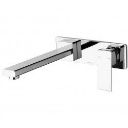 Phoenix Radii Wall Bath Mixer Set 230mm Chrome