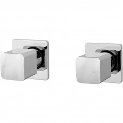 Phoenix Rush Wall Top Assemblies with 15mm Extended splindles Chrome