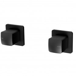Phoenix Rush Wall Top Assemblies with 15mm Extended splindles Matte Black