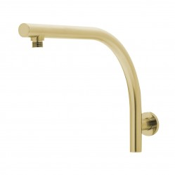 Phoenix Rush Hi Rise Shower Arm Only Brushed Gold