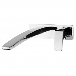 Phoenix Rush Wall Bath Mixer Set 280mm Chrome