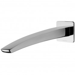 Phoenix Rush Wall Basin Outlet 280mm Chrome