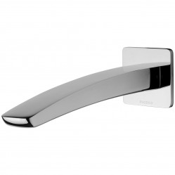 Phoenix Rush Wall Basin Outlet 180mm Chrome