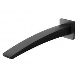 Phoenix Rush Wall Basin Outlet 230mm Matte Black