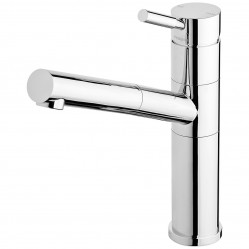 Phoenix Vivid Premium Pull Out Sink Mixer Chrome