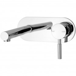 Phoenix Vivid Wall Bath Mixer Set 200mm Chrome