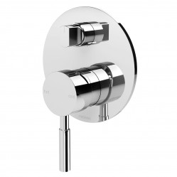 Phoenix Vivid Shower/Bath Diverter Mixer Chrome