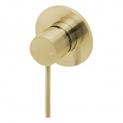 Phoenix Vivid Slimline Shower/Wall Mixer Brushed Gold