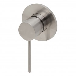 Phoenix Vivid Slimline Shower/Wall Mixer Brushed Nickel