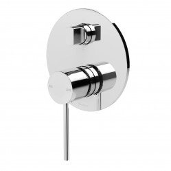 Phoenix Vivid Slimline Shower/Bath Diverter Mixer Chrome