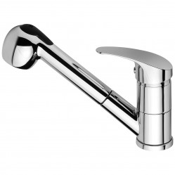 Phoenix Ivy Pull Out Sink Mixer Chrome