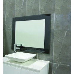 Ablaze Contractor 750x900mm Grey Float Glass Mirror with Demister