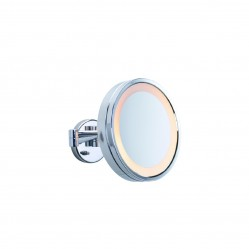ablaze 3x Magnification Mirror with Light Concealed wiring