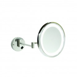 ablaze 5x Magnification Mirror with Light concealed wire