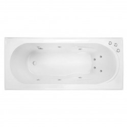 DECINA ADATTO 1650MM SANTAI 10-JET SPA BATH