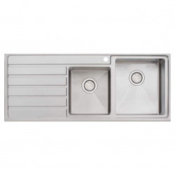 Oliveri Apollo 1 & 3/4 Bowl Sink with left hand Drainer