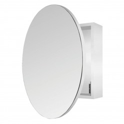 ablaze Round Shaving Mirror Cabinet 400x400x150mm with 600mmø Mirror Door